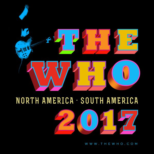 The Who 2017 Tour Logo